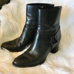 Cole Haan Calixta Ankle Boots Black